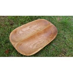Uosio medienos lėkštė 2