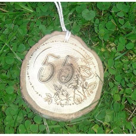 Gimtadienio medalis 55 metai