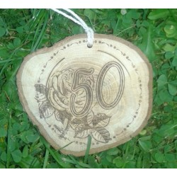 Gimtadienio medalis 50 metų