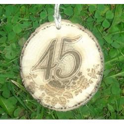 Gimtadienio medalis 45 metai