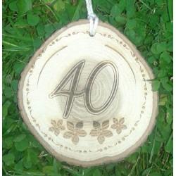 Gimtadienio medalis 40