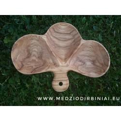 3 vietų uosio medienos padėklas Nr. 3